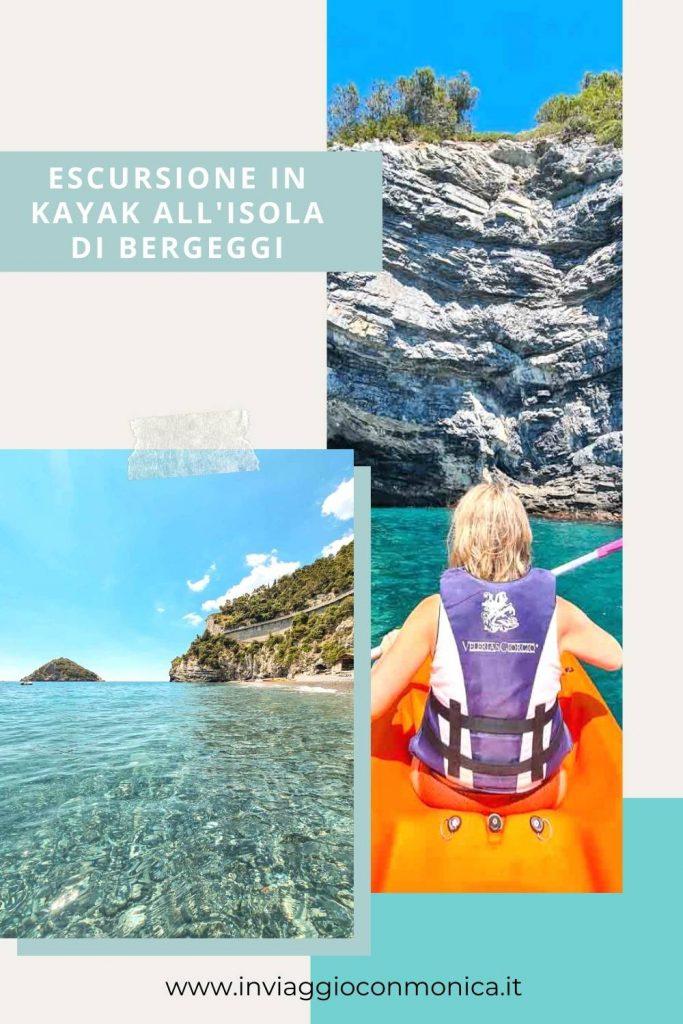 Escursione Kayak Bergeggi