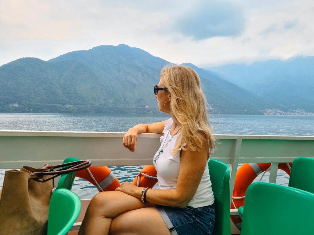 Muoversi in Battello sul lago di Como - In viaggio con Monica
