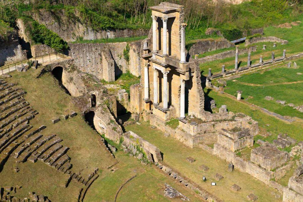 Volterra anfiteatro