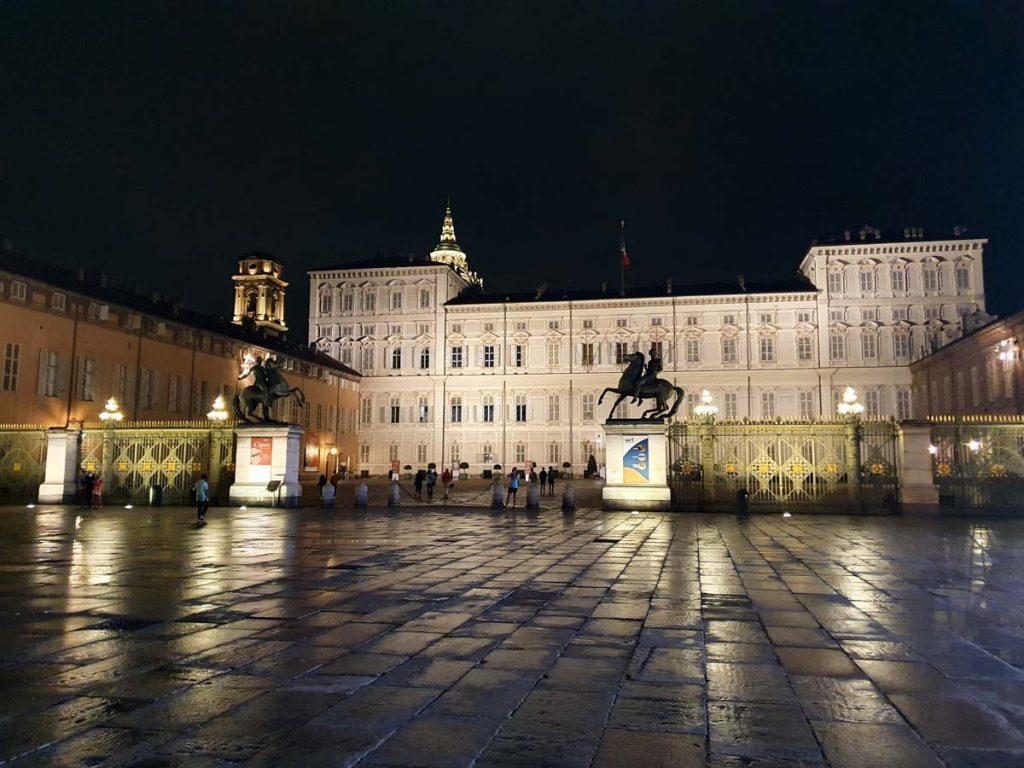 Piazza Castello Palazzo Reale Torino